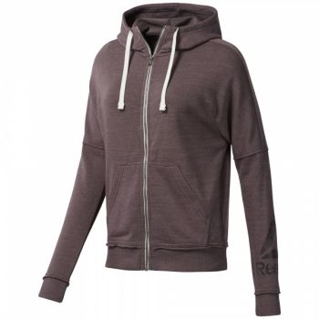 El Marbel Full Zip Hoodie - Almost Grey