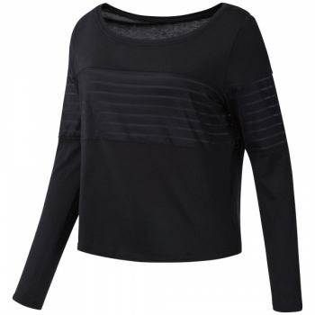 Mesh Longsleeve Layer - Black