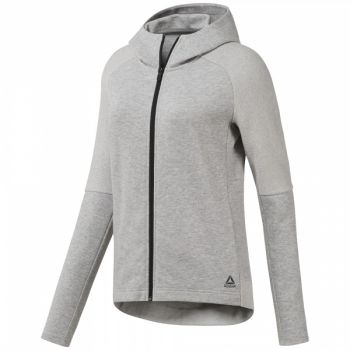 Quik Cotton Full-Zip Hoodie - Medium Grey Heather