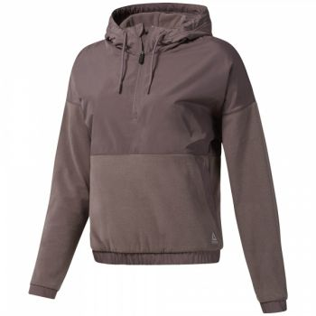 Microfleece Hoodie - Almost Grey