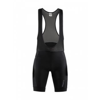 Rise Bib Shorts M - Black