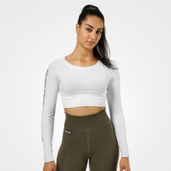 Bowery Cropped ls - White
