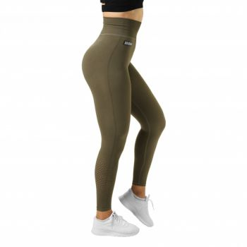 Bowery High Tights - Khaki Green