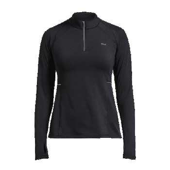 Sprint Half Zip - Black