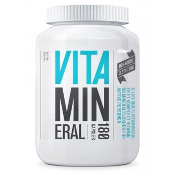 Vitamineral - Multivitamin 180 kapsler