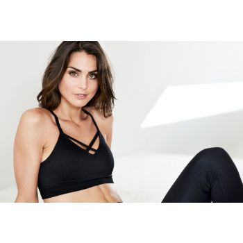 Tulip W Sports Bra - Sort