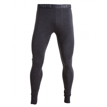 Mens Bambull Long Johns-  Dark Grey Melange