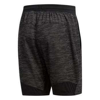 4KRFT Sport Striped Heather Shorts Herre - Sort