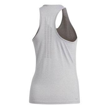 Tech Prime 3-Stripes Singlet Dame - Grå