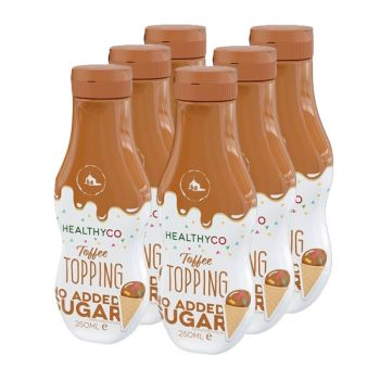 HealthyCo Topping 250 ml x 6 - Toffee