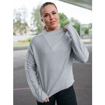 Training Essentials Twill Cowl Neck Genser - Grå
