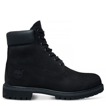 6 Inch Premium Boot Herre - Sort