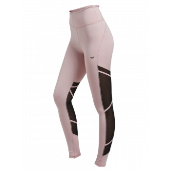 Mesh Tape Tights Dame - Rosa