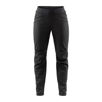 Warm Train Pant W - Sort