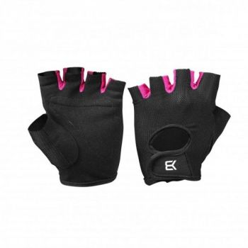 Womens Training Gloves - Black / Pink