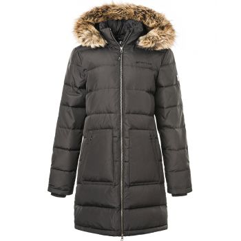Paranaque Long Down Parka Jakke Dame - Sort