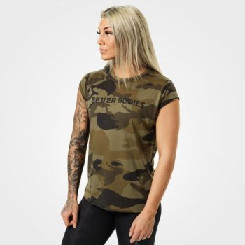 Astoria Tee - Dark Green Camo