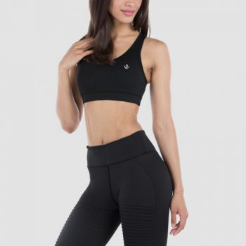 Regalia Sports Bra - Black