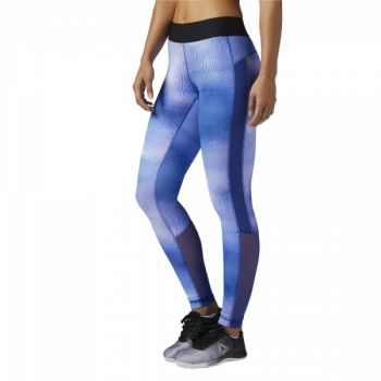 Techspiration Tights - Deep Cobalt
