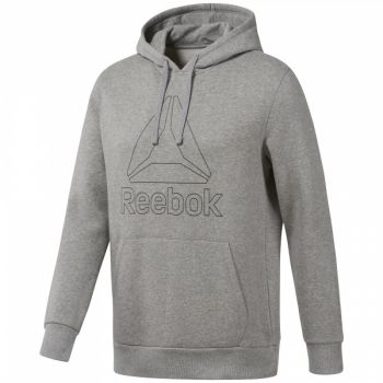 Big Logo Hoodie - Medium Grey Heather