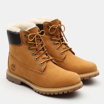 6 Inch Premium Shearling Lined Boot Dame - Gul