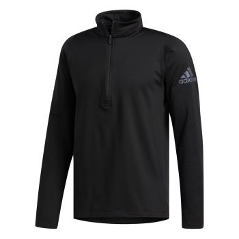 FreeLift Climawarm Half Zip Genser Herre - Sort