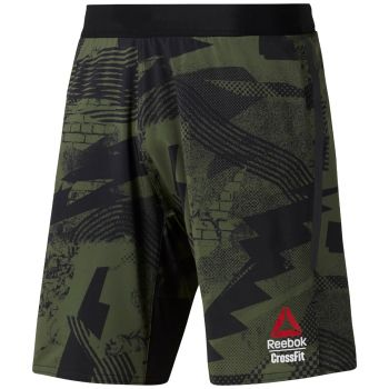 CrossFit Games Speed Shorts - Sort / Grønn