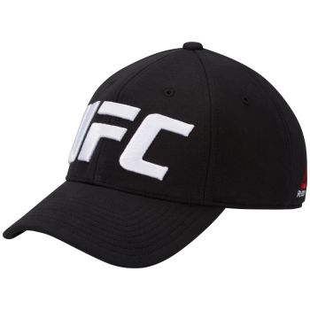 UFC Logo Baseball Caps - Sort