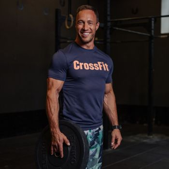 CrossFit Forging Elite Fitness T-skjorte - Blå