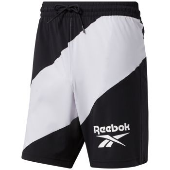 Workout Ready Woven Graphic Shorts Herre - Sort