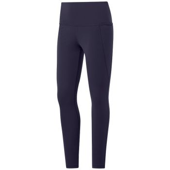 Lux High-Rise Tights 2.0 Dame - Blå