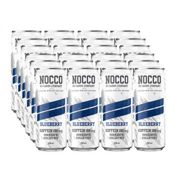 NOCCO BCAA 330 ml x 24 - Blueberry