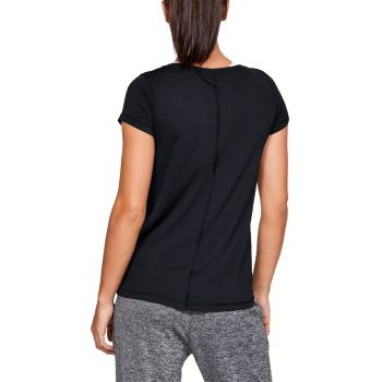 HeatGear Armour T-skjorte Dame - Sort