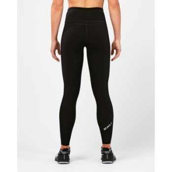Fitness High Rise Compression Tights Dame - Sort