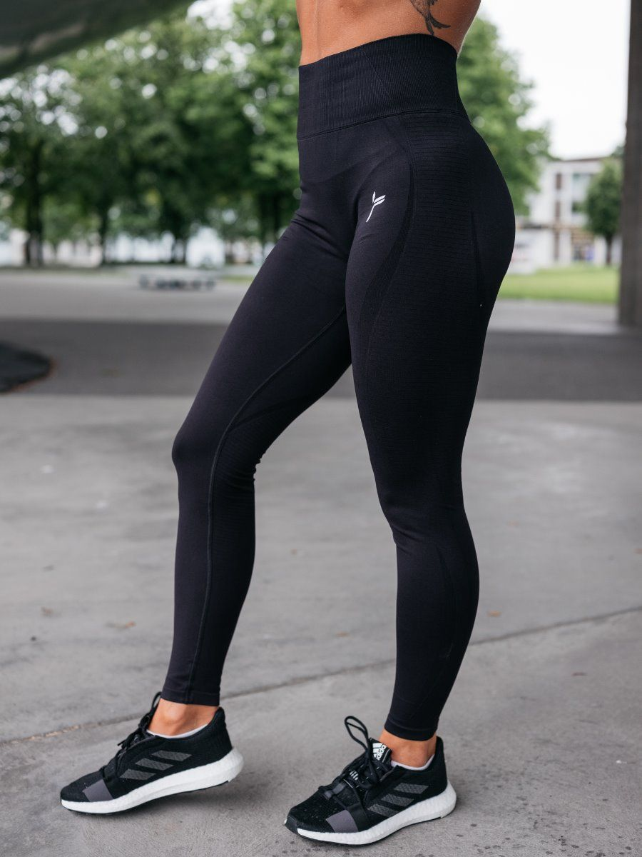 77ed4ab9 FAMME Vortex Tights Dame - Sort - se pris | X-Life.no