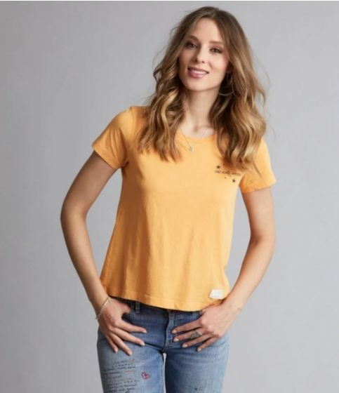 be38b6a5 Graphictude t-shirt - Warm Yellow | X-life.no