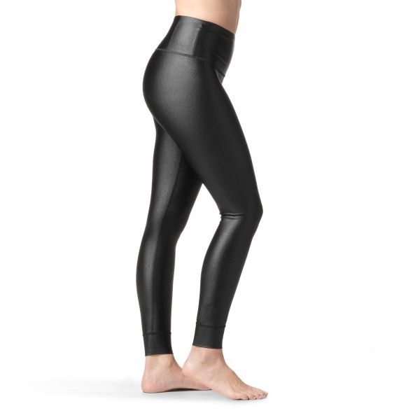 Metallic High-Rise Tights - Black e9143d55b5c4