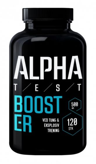 Alpha Test Booster 120 kapsler