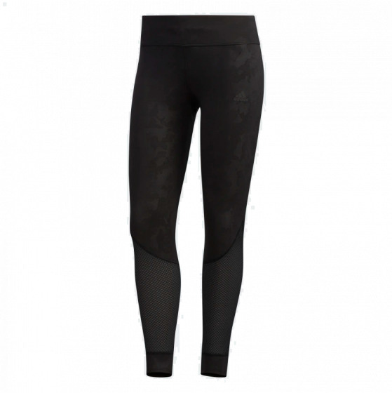 Own The Run 7/8 Graphic Tights Dame - Sort